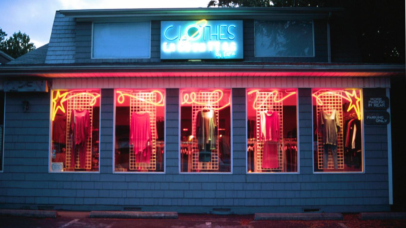 Clothes Encounters neon