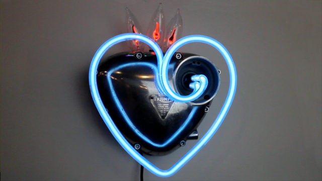 Triumph Mercury Heart