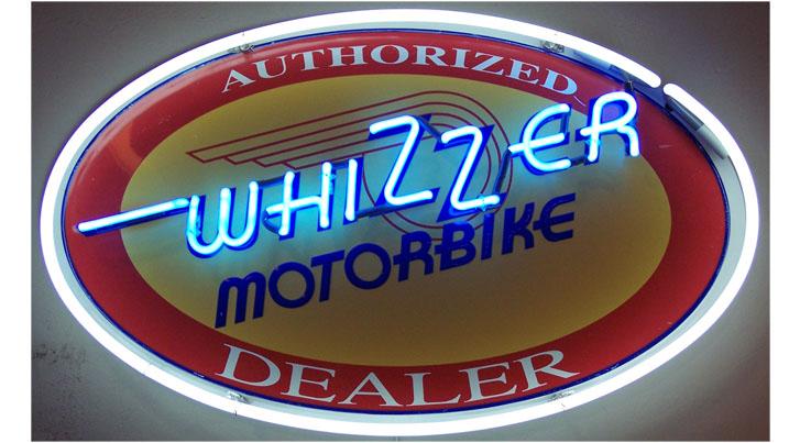 Whizzer neon